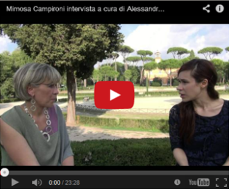 Mimosa Campironi,  intervista a cura di Alessandra Fantauzzi per Squinternati Roma